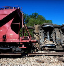 Train driver compensated after workplace accident